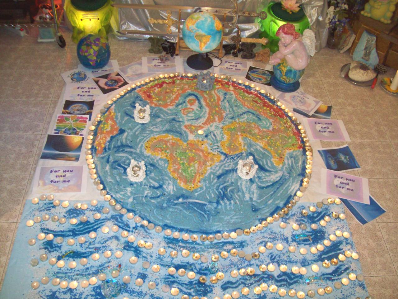 Il Mandala di Madre Terra. Heal the World